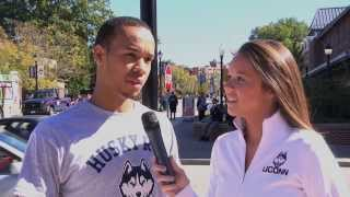 UConn Basketball Husky Run 2013