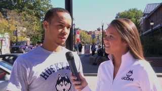 UConn Basketball Husky Run 2013