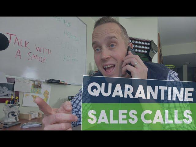 Sales Calls During the Coronavirus
