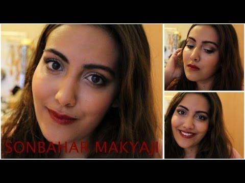 Sonbahar Makyajı Koyu Ruj Fall Make Up Tutorial Bold Lips