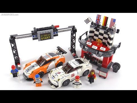 lego speed champions porsche 911 gt finish line review. Black Bedroom Furniture Sets. Home Design Ideas