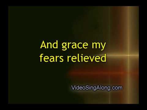 Amazing Grace Instrumental with Lyrics