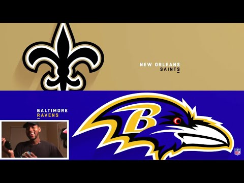 Saints vs Ravens Week 7 Highlights  NFL 2018 🏈 REACTION