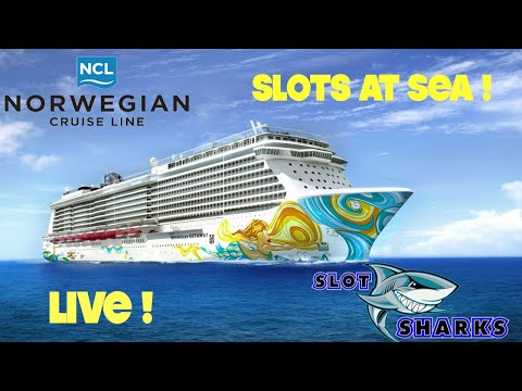 🎰 LIVE Casino Slots from Sea 🦈 Norwegian Getaway 🛳