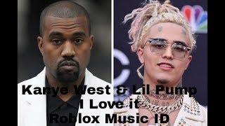 Kanye West & Lil Pump - I Love It (ROBLOX MUSIC ID!!!)