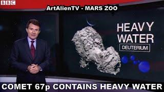 COMET 67p CONTAINS HEAVY WATER - BBC NEWS 10th Dec 2014. ArtAlienTV - 1080p
