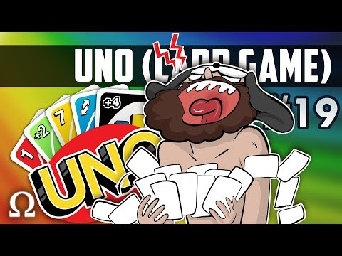 FUNNIEST RAGE MOMENT EVER! | Uno Card Game #19 Ft. Jiggly, Stabbies, Swag