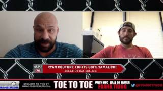 Bellator 162's Ryan Couture: 'I'm excited to test myself against Goiti Yamouchi on the ground'