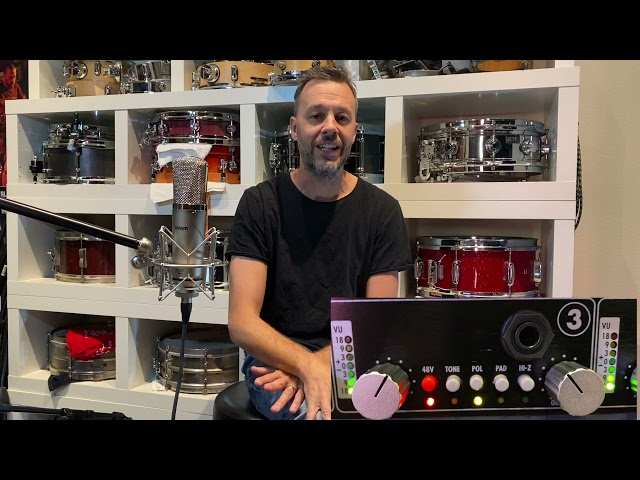 Hip Hop Drum Sounds, Using Only Warm Audio Gear