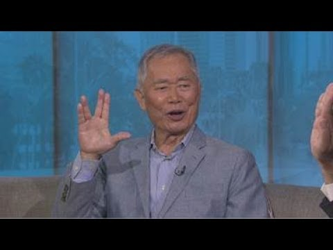 George Takei talks about Star Trek, internment camps and his musical 'Allegiance'