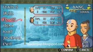 Avatar: The Last Airbender PSP iso