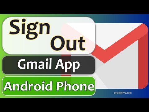 How To Sign Out Of Gmail On Android Phone - 2020