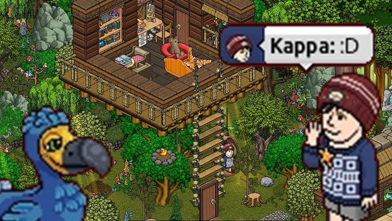 Review como fazer uma casa na rvore no habbo youtube for Casas en habbo