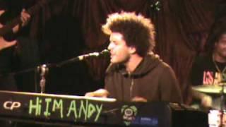 "Andy Frasco Live ""I've had enough"" (12-08-09)#2"