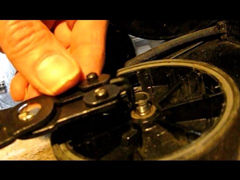 How To Fix Wheel Trouble On Kirby Vacuum Rear Wheel Falls Off And The Drive Is Noisy