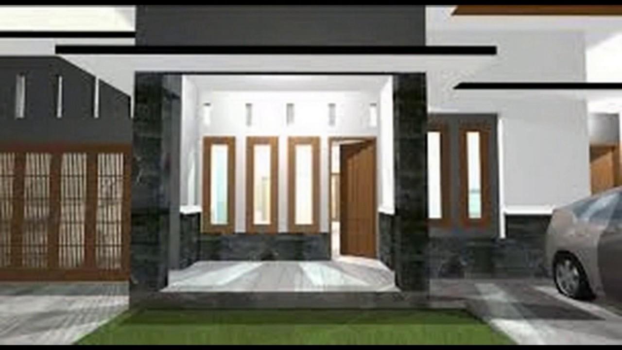 Desain Tiang Teras Rumah Minimalis Youtube