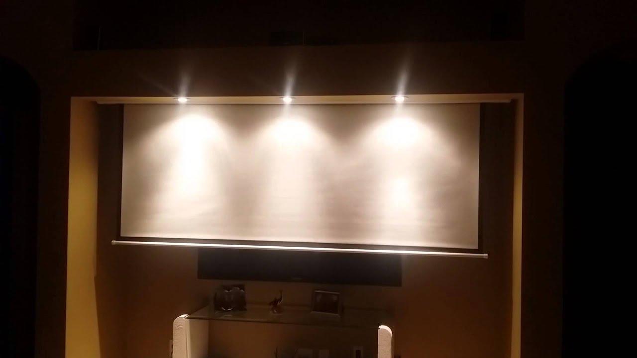 100 Hidden Projector Screen Setup