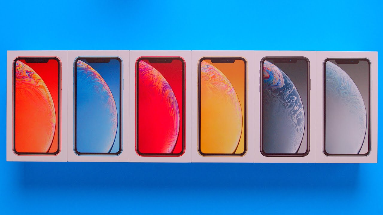 unboxing-every-iphone-xr-all-colors