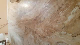 Венецианка под мрамор ЛУЦК  Ирком(недорогое создание мраморного рисунка на стене с помощью венецианки Ирком., 2017-02-05T20:17:24.000Z)