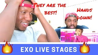 Exo Live stage reactions { Lucky One + Love me right}