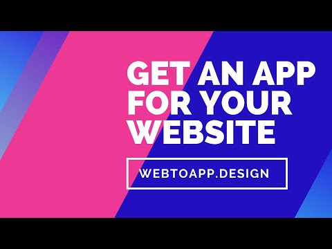 We turn your Website into an App!  https://webtoapp.design