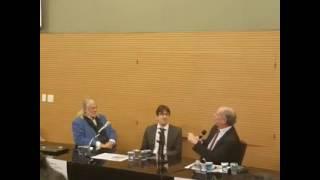 Ciro Gomes falando na Faculdade de Direito da Universidade de São Paulo