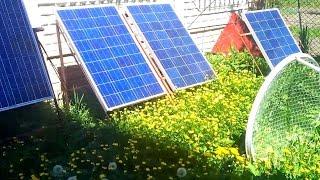 видео Солнечная электростанция для дома