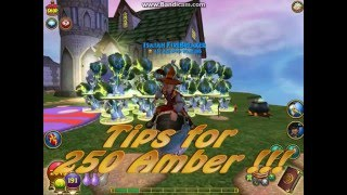 Wizard101 Tips for Gardening   250 Amber