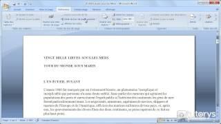 Comment insérer des notes de bas de page avec Word 2007 ?