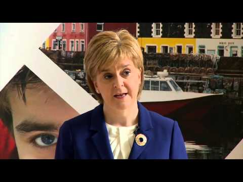 First Minister on the Scottish Attainment Challenge