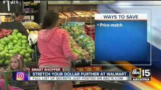 Tips to saving money at Walmart