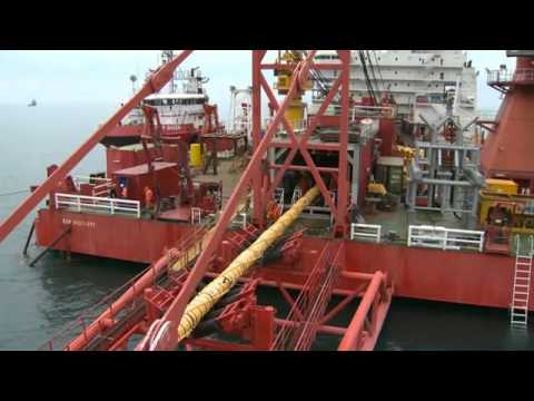 GSP Offshore Gas Pipeline Project For Gazprom part 1/2