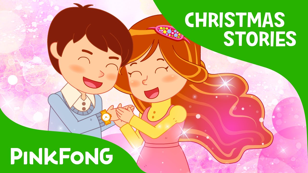 the gift of christmas christmas stories pinkfong story time for children youtube