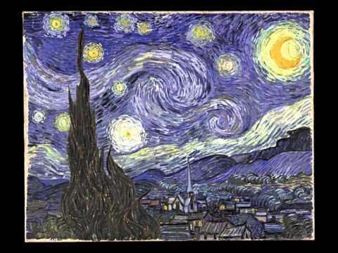 Винсент ван Гог «Звёздная ночь» 1889