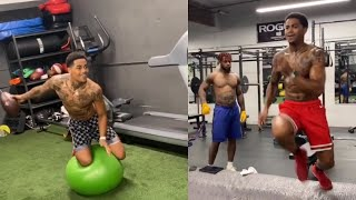 A look at kendrick bourne's offseason workout and training routine.#kendrickbourne #49ers #nfl #nfloffseason