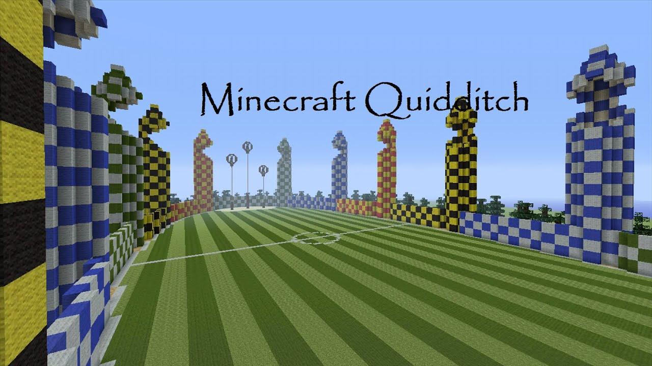 Quidditch Pitch Minecraft Youtube