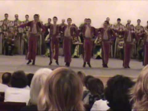 Tatul Altunyan's song-dance Ensemble Part 1