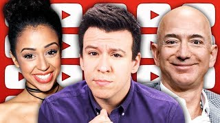 WOW! Liza Koshy Leads The Way, CNN Sues Trump, & Jeff Bezos Makes Them Work For It