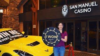 Club Serrano Member Cynthia Wins a Corvette Z06 at San Manuel Casino
