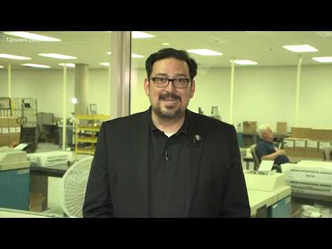 Maricopa County Recorder Adrian Fontes talks about polling place problems