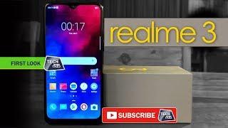 realme 3 स्मार्टफोन: जाने कीमत और फीचर्स | Unboxing | Tech Tak