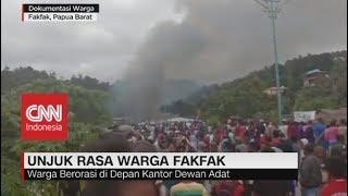 Unjuk Rasa Warga Fakfak Papua