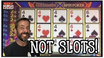 I PLAYED EVERY GAME IN THE CASINO THAT WASN'T A SLOT MACHINE! VIDEO POKER ✦ KENO ✦ ROULETTE ✦ LOTTO