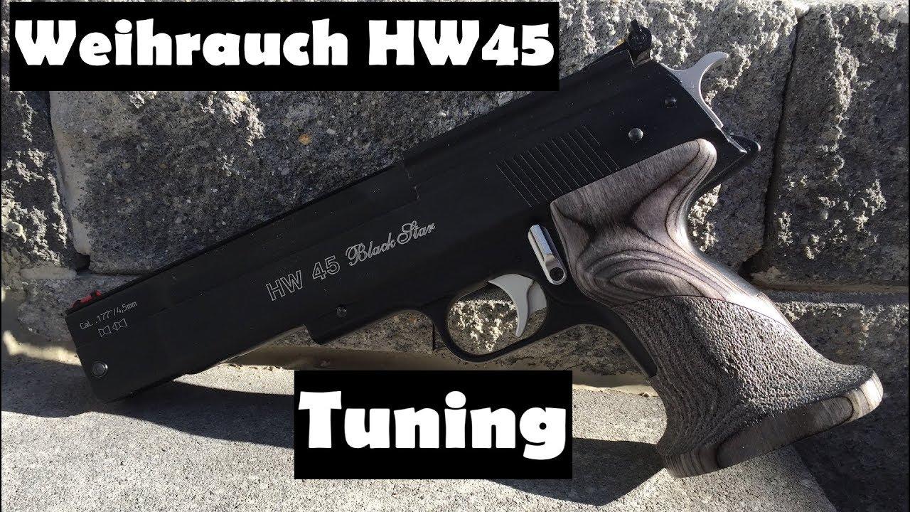Tuning and Spring Change Weihrauch HW45 / Beeman P1