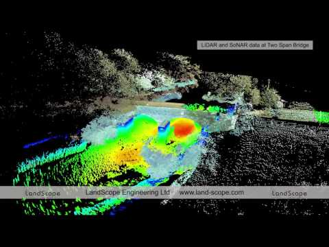 Underwater Bridge Survey Using 3D Scanning Sonar
