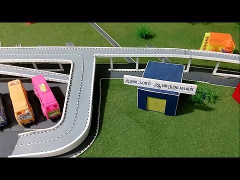 SALEM FIVE ROADS FLYOVER   Salem five roads bridge   two-tier flyover in Salem   2016 1080p HD