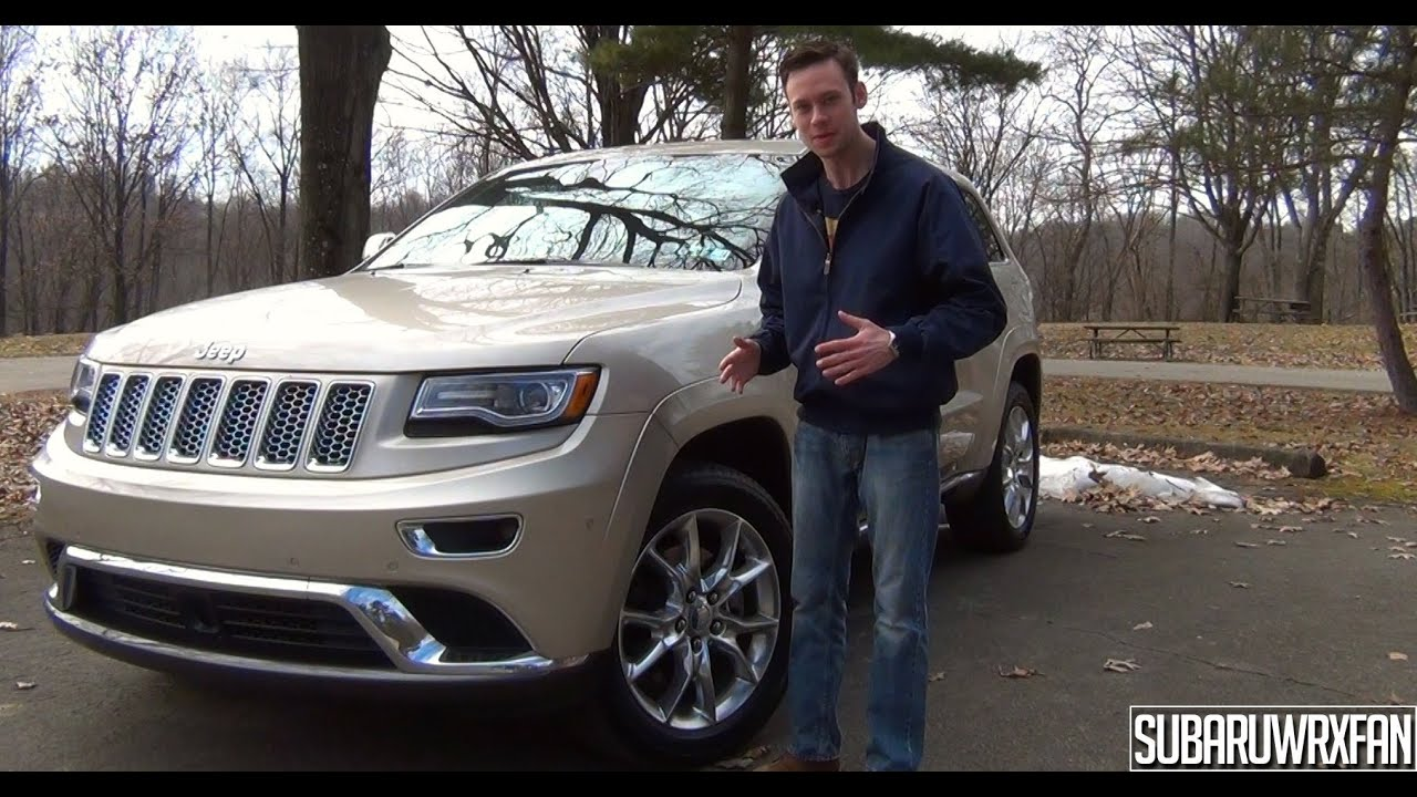 review 2014 jeep grand cherokee summit youtube. Black Bedroom Furniture Sets. Home Design Ideas