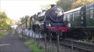 North Yorkshire Moors Railway Holiday D5 Green Timetable Monday 12th October 2015