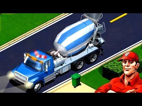 เกมส์แนะนำรถ โม่ปูน รถบรรทุก รถบัส รถดับเพลิง รถขยะ Kids Vehicles: City Trucks