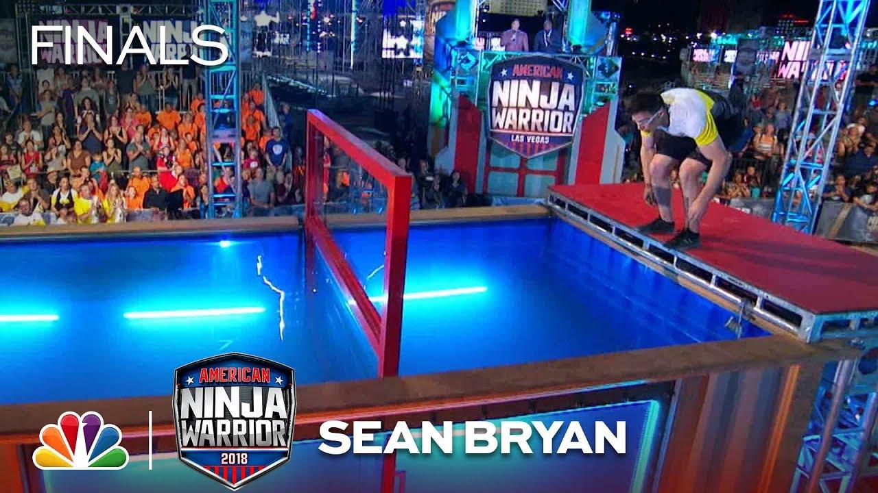 Download Sean Bryan at the Vegas Finals: Stage 2 - American Ninja Warrior 2018